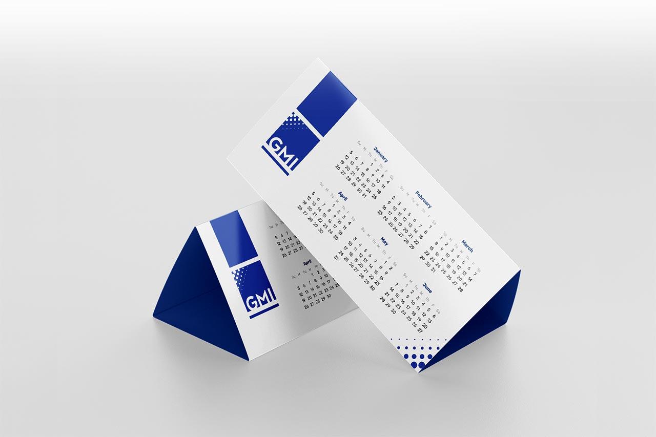 Calendarios de mesa pirámide