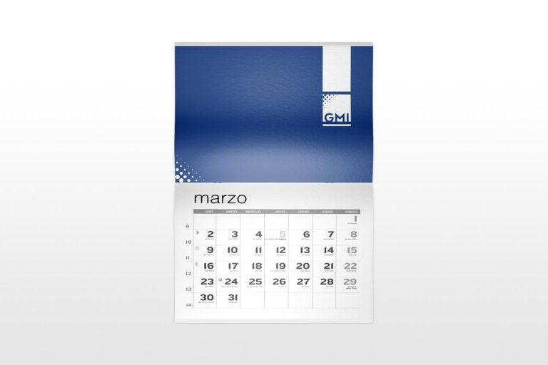 Calendarios de pared con grapa