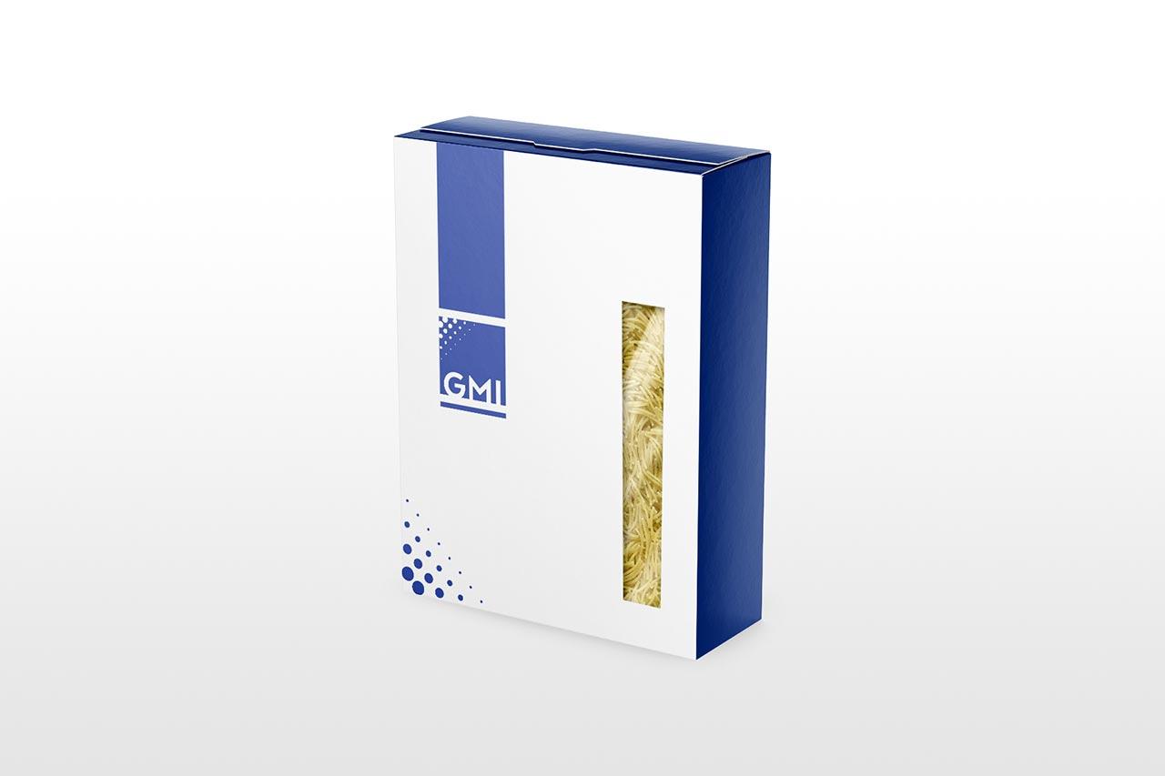Packaging para pastas