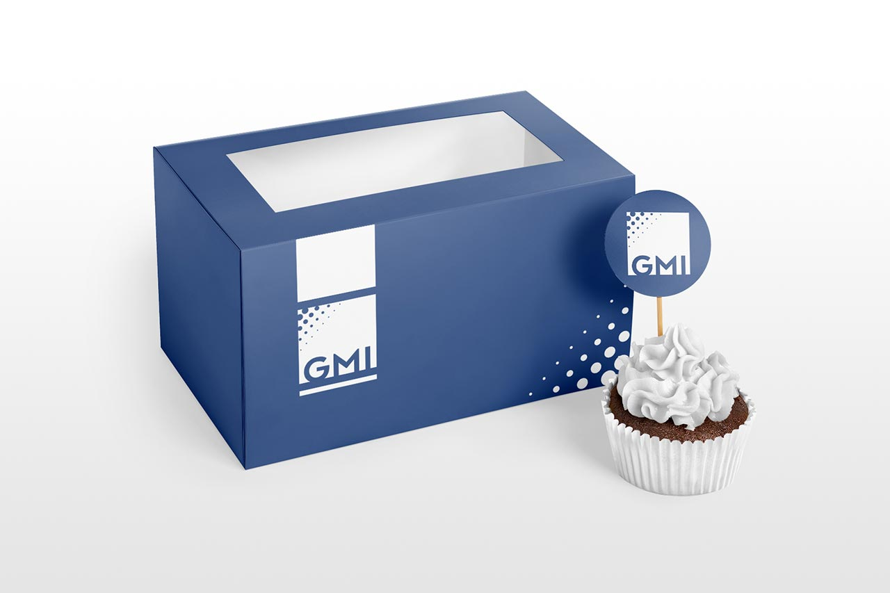 Packaging para pastel